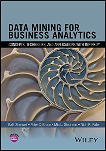 Data Mining for Business Analytics: Concepts, Techniques