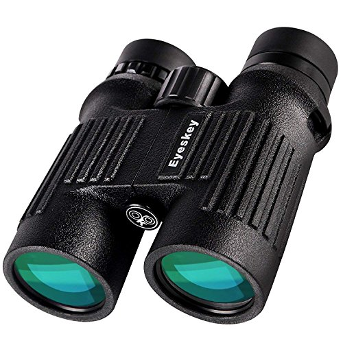 Eyeskey Binoculars for Adults-10X42 Waterproof Hunting Binoculars for Professional Traveler- Wide Field of View, More Clear -Great for Camping, Hunting, Travelling, Concert, Surveillance by Eyeskey