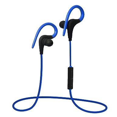 Q10 - Auriculares inalámbricos con micrófono para iPhone 6, 6S, Samsung Galaxy S8,