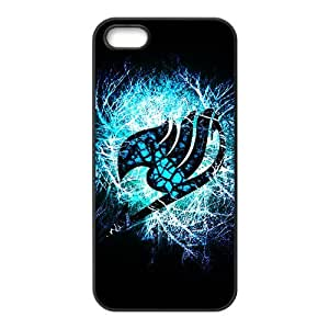 Blue shiny Fairy Tail Cell Phone Case for Iphone 5s