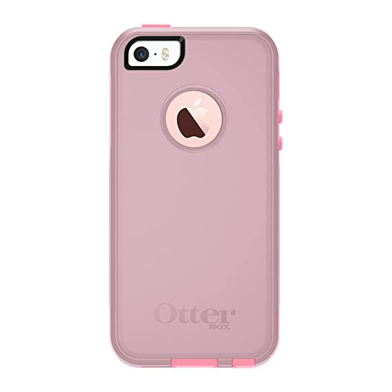 newest 4cec1 a51d5 OtterBox COMMUTER SERIES for iPhone 5/5s/SE - Frustration Free Packaging -  BUBBLEGUM WAY (BUBBLEGUM PINK/SEASHELL PINK)