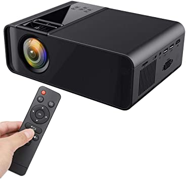 Proyector LED, 1080P Mini Proyector de Cine en Casa Portátil ...
