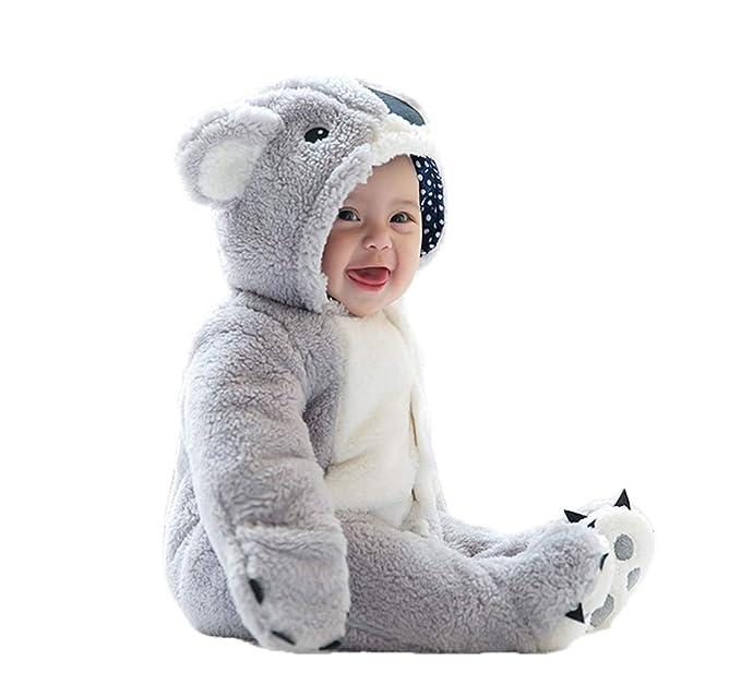 Monos para Bebés Niño Coala Mameluco Peleles Invierno Ropa Traje Animales Rompers: Amazon.es: Ropa y accesorios