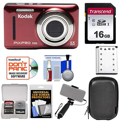 Kodak PixPro Friendly Zoom FZ53 Digital Camera  with 16GB Ca