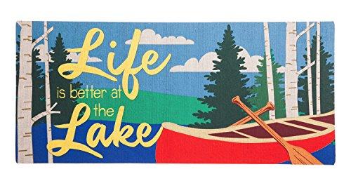 Evergreen Life at the Lake Decorative Floor Mat Insert, 10 x 22 - Pembroke At Lakes