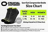 Ankle Compression Running Socks for Men & Women