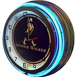 Johnnie Walker 19 Double Neon Clock