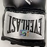 Autographed/Signed Mike Tyson Imperfect Black