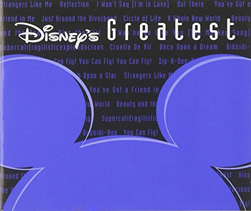 Disney's Greatest, Vol. 1 (Jewel) (The Walt Disney Company The Entertainment King)
