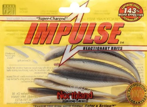 NORTHLAND TACKLE 4-Inch Impulse Smelt Minnow and...