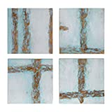 Uttermost 34375 Cross Roads Contemporary Art - Set of 4