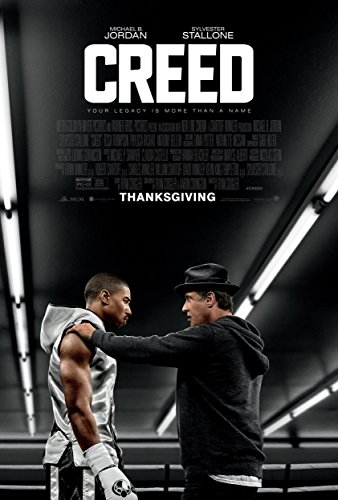 """Creed - Movie Poster, Size 24 x 36"""" Inches , Glossy Photo Pa"""