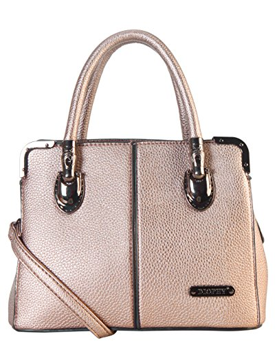 diophy-womens-faux-leather-dual-compartments-mini-tote-handbag-ab-035-taupe