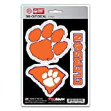 NCAA Clemson Tigers Team Decal, 3-Pack