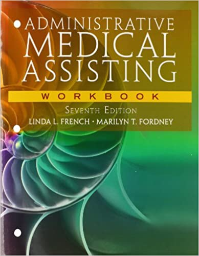Administrative medical assisting 9781133798804 medicine health administrative medical assisting 7th ed edition fandeluxe Image collections