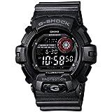 Casio G-Shock Garish Color Super Illuminator - Black Dial w/ Red - Flash Alert