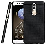 Jkobi® 360* Protection Premium Dotted Designed Soft Rubberised Back Case Cover For Micromax Canvas Dual 5 -Black