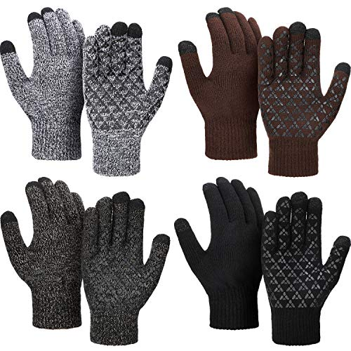 4 Pairs Winter Knit...