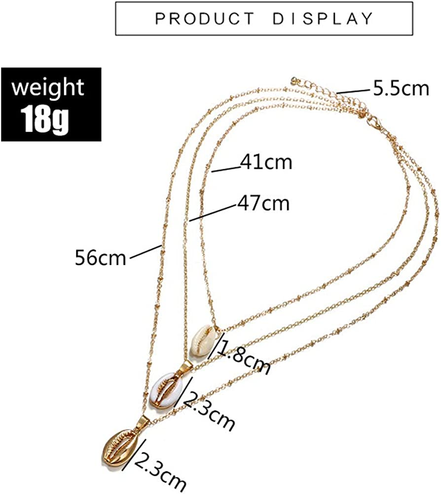 Layered Y Necklace For Women Long Chain Sweater Pendant Necklaces Dainty Layered Necklace for Girl