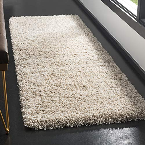 Safavieh California Premium Shag Collection SG151-1313 Beige Rug (2'3