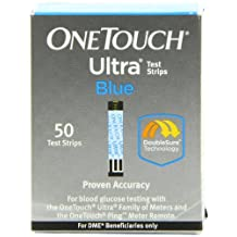 LifeScan OneTouch Ultra Blue Test Strips, 50/bx