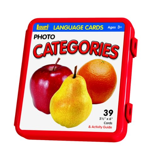 Lauri Photo Language Cards Categories