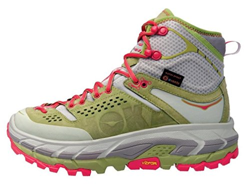 HOKA ONE ONE Tor Ultra Hi WP Running Shoe - Women's Fog Green/Olive 8