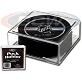 Plastic 2-Piece Square Hockey Puck Holder (1 Hockey Display Box)