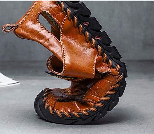 Outdoor-Sandalen Voor Heren Gesloten Teenboog Steunriem Water Sandalen Lichtgewicht Atletische Trail-Sandalen,Brown,44
