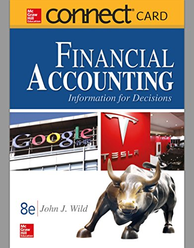 Connect Access Card for Financial Accounting: Information and Decisions (Wild Printed)