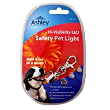 Hi-Visibility LED Dog Collar / Pet Safety Light, Perfect For walking Your Pet In the Dark.