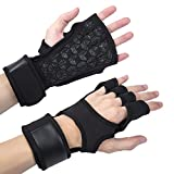 Best Gloves For Fitness Strengths - Ventilation Weightlifting Gloves,Wrist Fitness Protective Gloves,Enhanced Protection of Review
