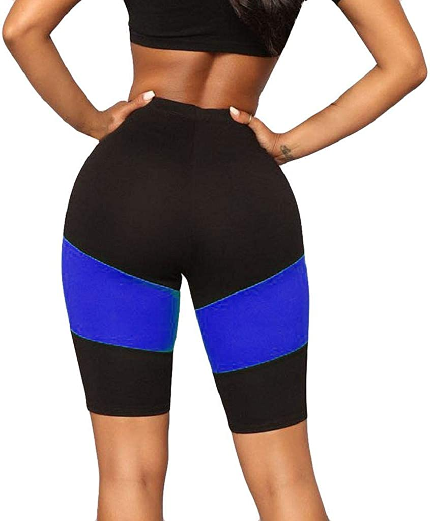 Slim Yoga Pants for Women REYO High Waist Printed Splice Yoga Pants Tummy Control Workout Running Yoga Leggings