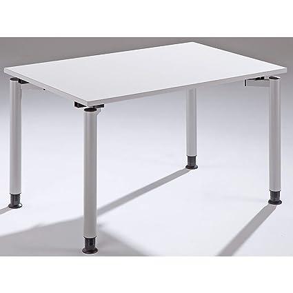 THEA escritorio con 4 patas de – Altura 680 – 820 mm – Ancho 1200 ...