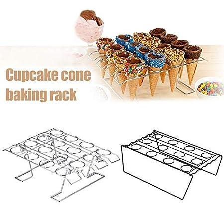 Soporte para Cupcakes Guajave dise/ño de Cono de Helado