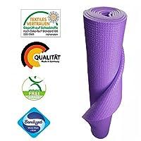 KlarGeist® Yogamatte - kontrolliert und zertifiziert für Ihre Gesundheit -...