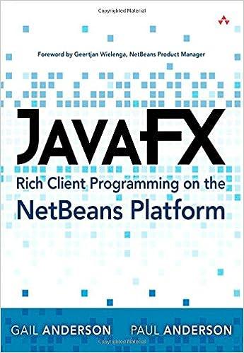 JavaFX Rich Client Programming