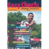 Easy Charts Deutsche Hits - für Klavier (mit Text und Akkorden) - 12 Topsongs von Unheilig, Adel Tawil, Cro u.v.a.m. in sehr leichten Arrangements (Noten)