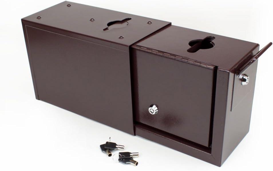 B00B5UBTNQ Brybelly Slim Line Double Locking Rake and Toke Box 41xvHnY2BlSL.