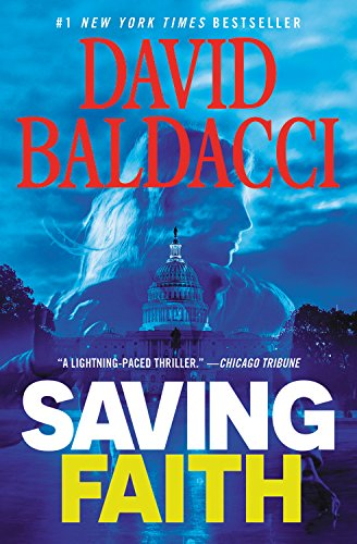Book cover from Saving Faith by David Baldacci