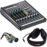 Mackie ProFX8v2 8-Channel Sound Reinforcement Mixer with Stereo Headphones & XLR- XLR Cable