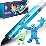 3D Pen for Kids - 3D Printing Pen set kit for girls boys teens adults - 3D Drawing Pencil – PLA ABS – original with display – cute gift box for art – best mini metal 3d pens starter pack case