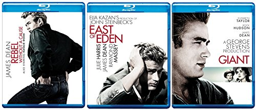 James Dean Blu-ray Collection - East of Eden, Giant & Rebel Without a Cause 3-Movie Bundle