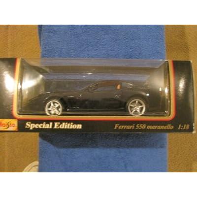 Maisto ~ Ferrari 550 Maranello (1996) Die Cast 1:18 Scale: Toys & Games