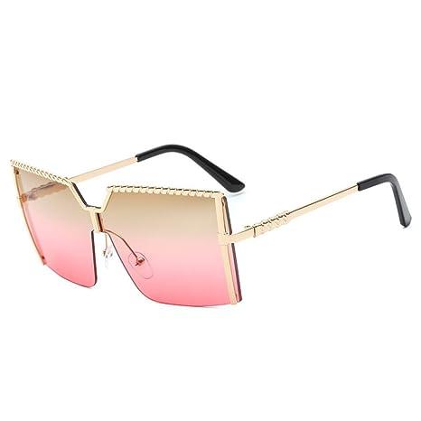 xuexue Gafas De Sol Sin Marco Siamés Gafas Europa Moda ...