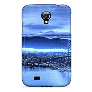 Premium Galaxy S4 Case - Protective Skin - High Quality For The Blue Storm