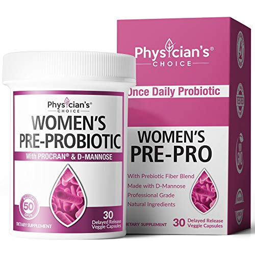 Prebiotics & Probiotics for Women - Clinically Proven ProCran - Organic Prebiotics