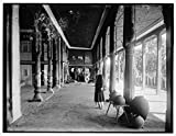Vintography 24 x 30 Giclee Unframed Photo Colonnade Interior Palace Hyderabad India 1895 Detriot Publishing co. 98a