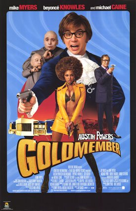 Austin Powers Goldmember Action Comedy Spy Spoof Movie Film