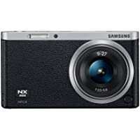 Samsung NX Mini 20.5MP CMOS Smart WiFi & NFC Mirrorless Digital Camera with 9-27mm Lens and 3' Flip Up LCD Touch Screen (Black)